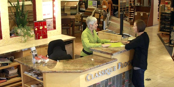 OREGON: Judith Huck, President Classique Floors Inc.