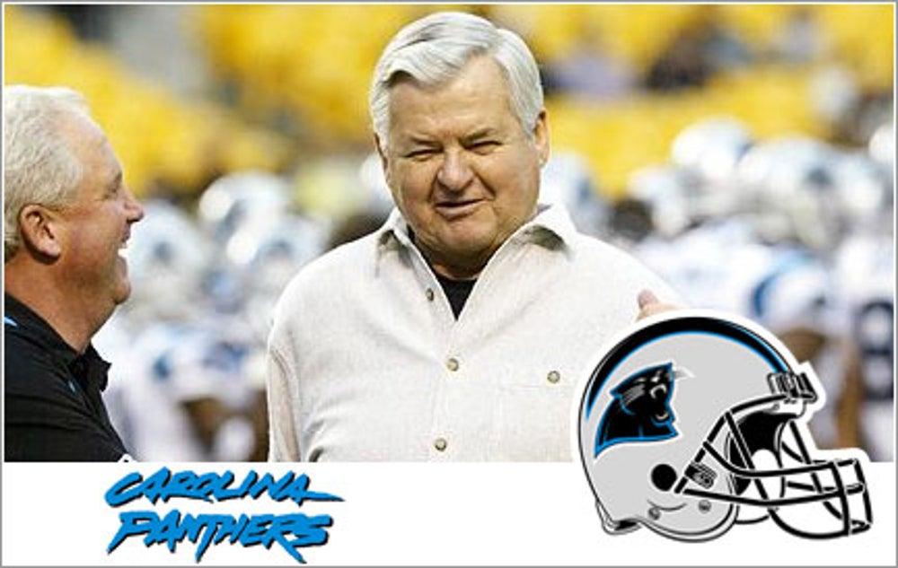 Jerry Richardson, Carolina Panthers