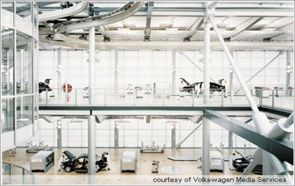 Volkswagen Phaeton Plant