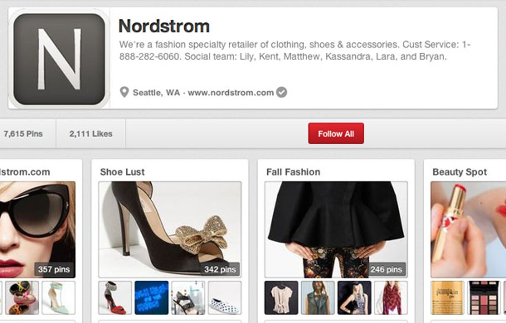 Nordstrom: be transparent and accessible