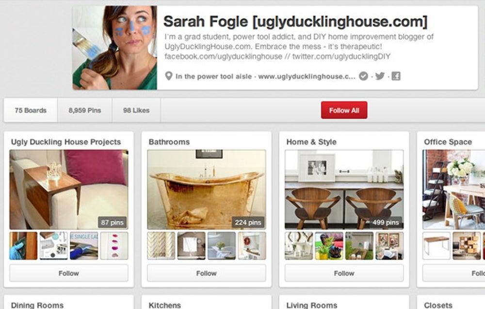 Sarah Fogle: be consistent