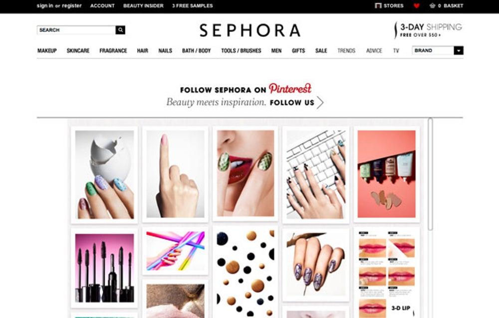 Sephora: make sharing easy