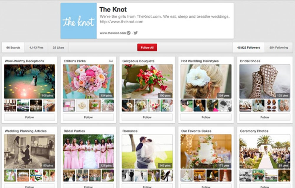 The Knot: feature what's most creative