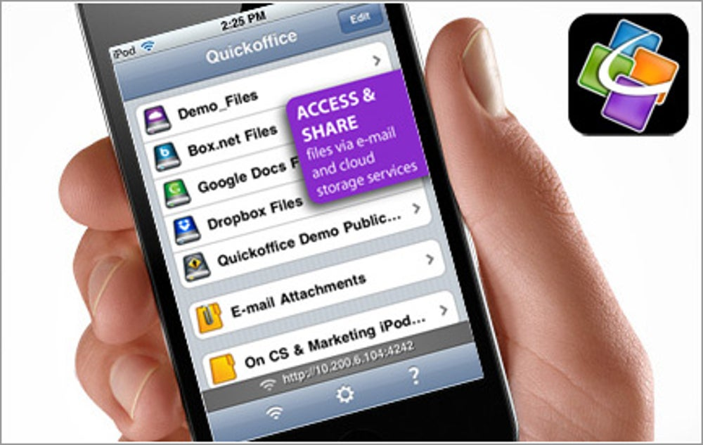 App:  Quickoffice Connect Mobile Suite