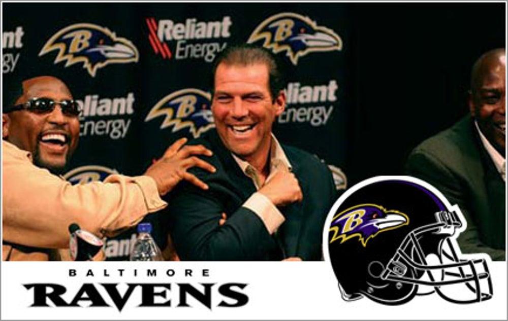 Steve Bisciotti, Baltimore Ravens