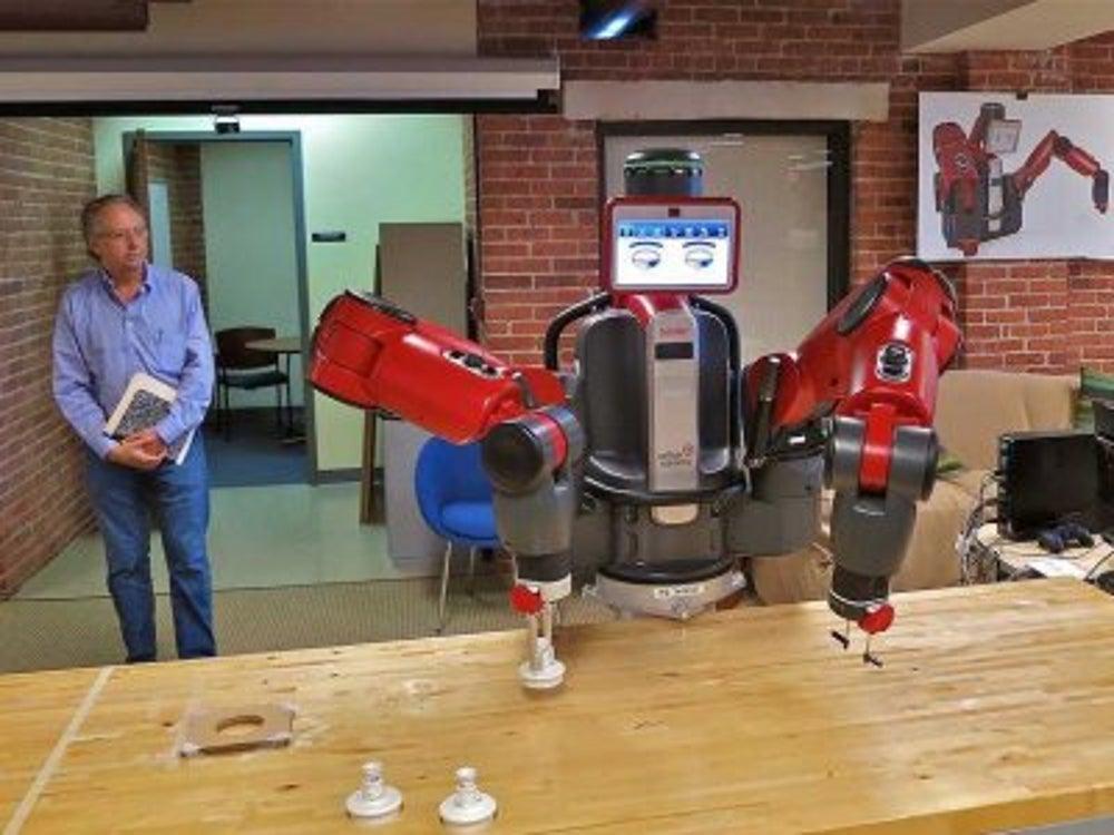 Rethink Robotics is creating a safe, intelligent robot for manufacturing