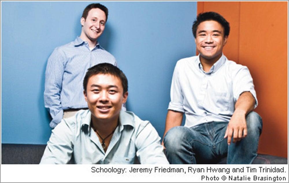 Jeremy Friedman, Ryan Hwang and Tim Trinidad