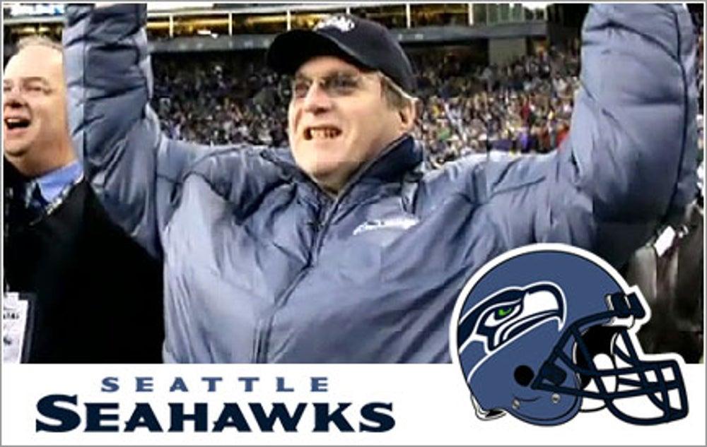 Paul Allen, Seattle Seahawks