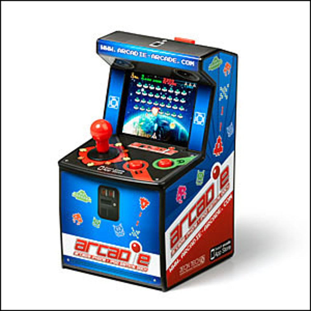 A smartphone-powered arcade