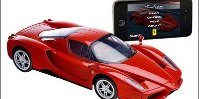 A smartphone-controlled racecar
