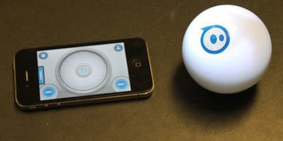 Sphero is a little robot ball you control with your phone