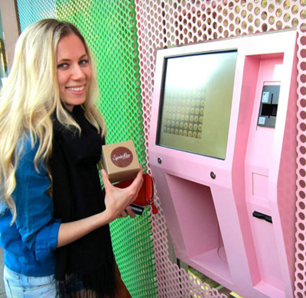 A Sweet Treat From Sprinkles Cupcake ATM