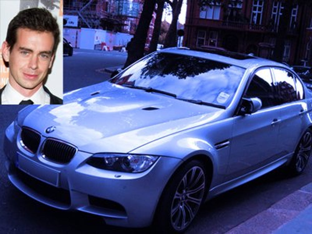 Square CEO Jack Dorsey's first car was a BMW 3