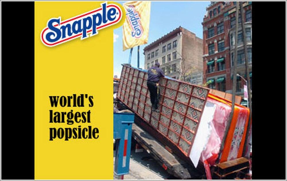 Company: Snapple