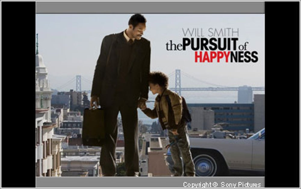 Honorable Mention: The Pursuit of Happyness (2006)