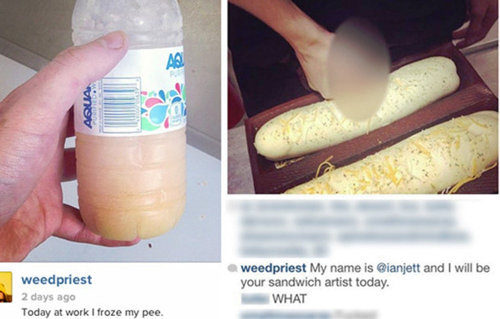 Subway's Instagram Gross-Out
