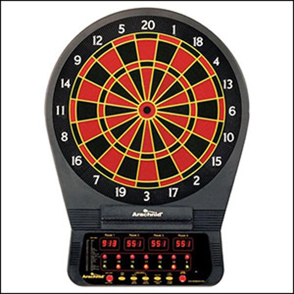 A talking dartboard