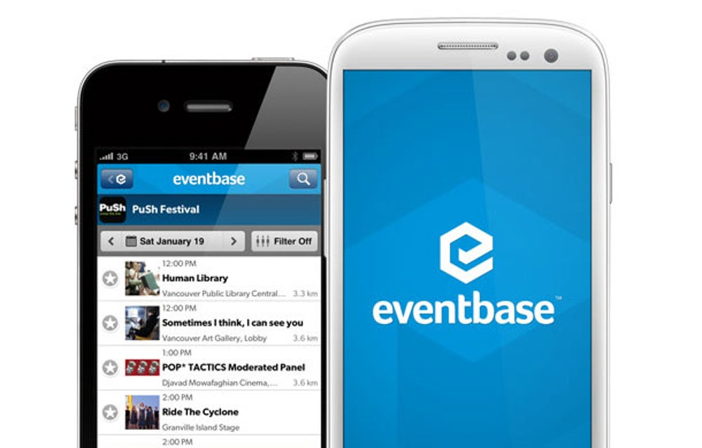 Eventbase: free mobile event schedules and maps
