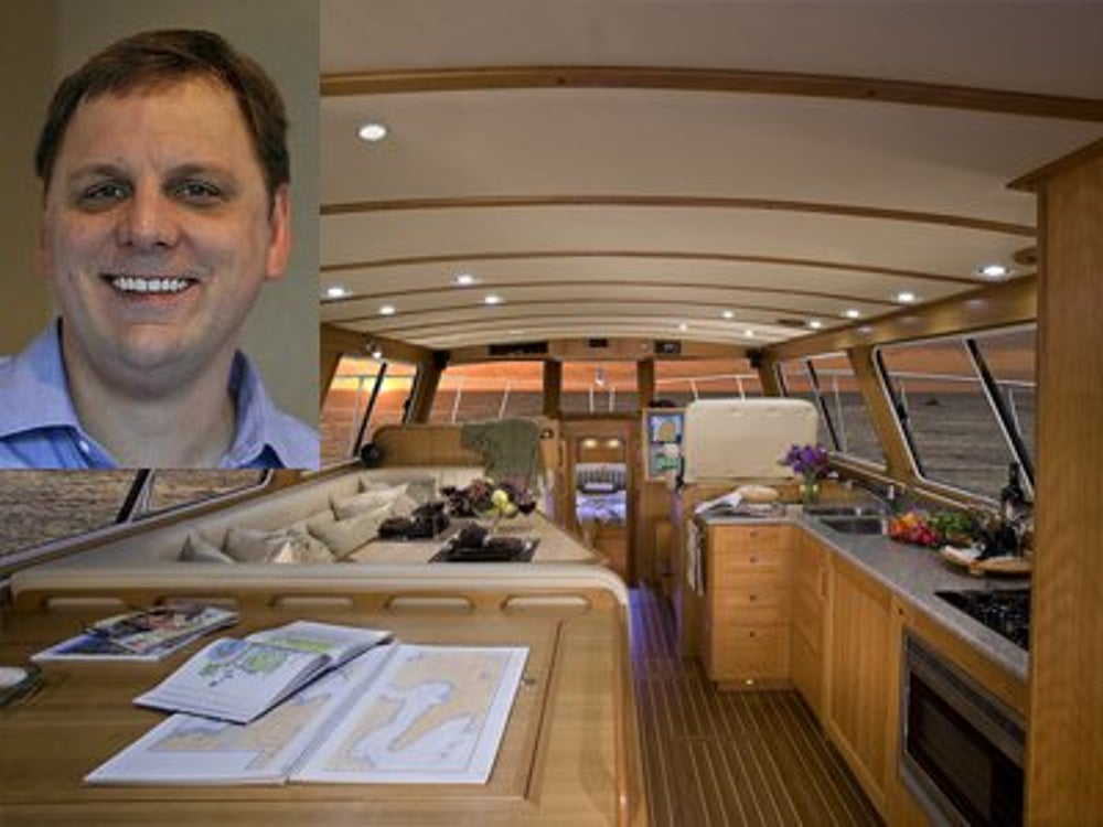 TechCrunch founder Michael Arrington is waiting to get his hands on a custom-made boat