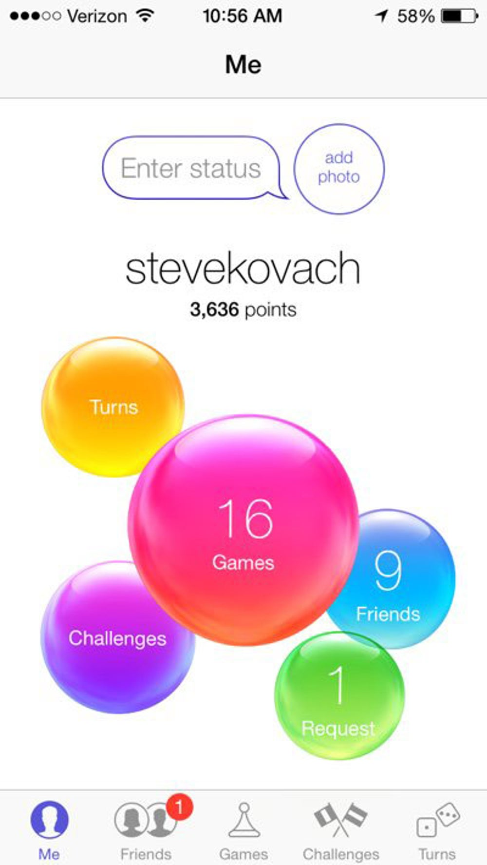 The new Game Center.