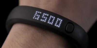 The Nike FuelBand helps you stay fit