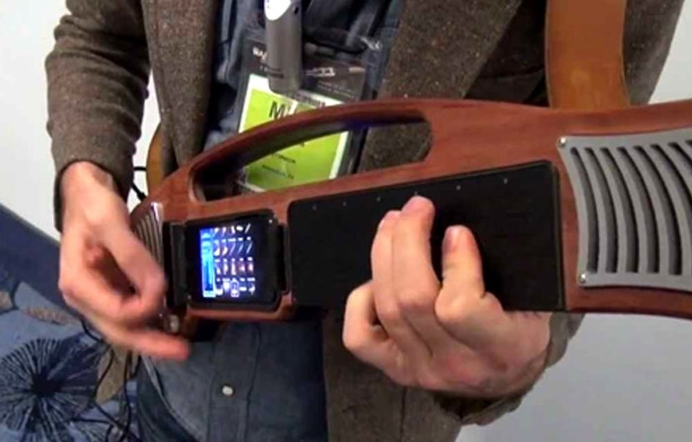 Rock out with this iPhone 'instrument'.