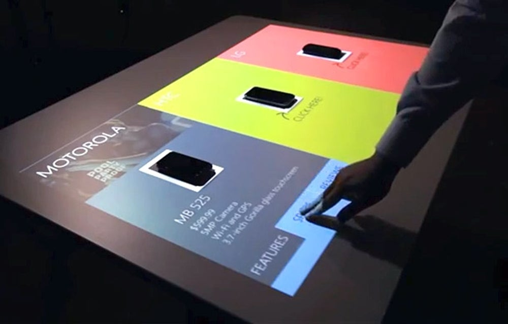 Turn any surface into a touch screen.