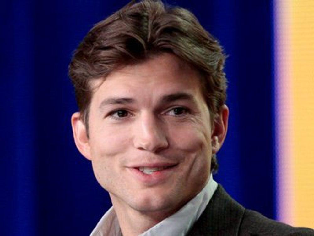 1. Ashton Kutcher