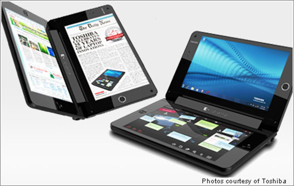 3. The Toshiba Libretto W100