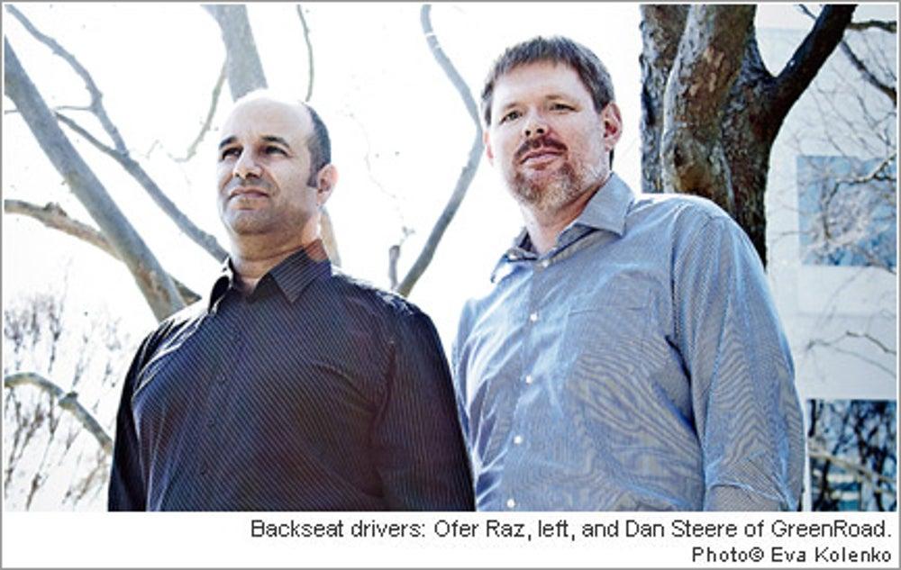 Ofer Raz and Dan Steere