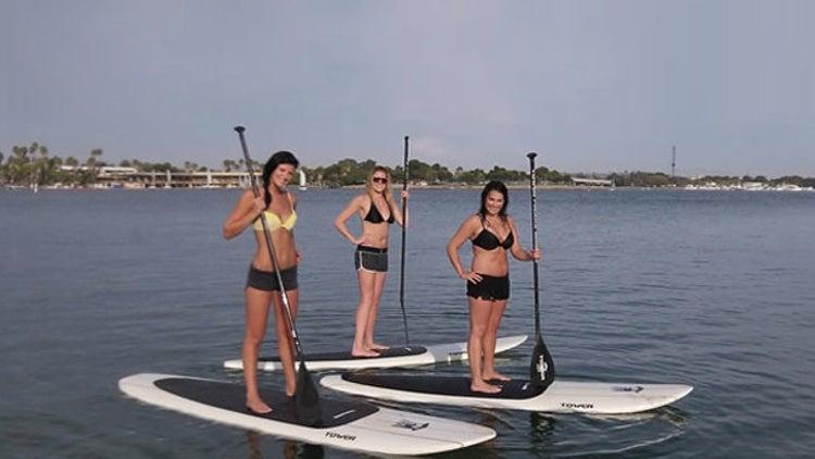 Stand Up Paddle Board Oak Island Nc