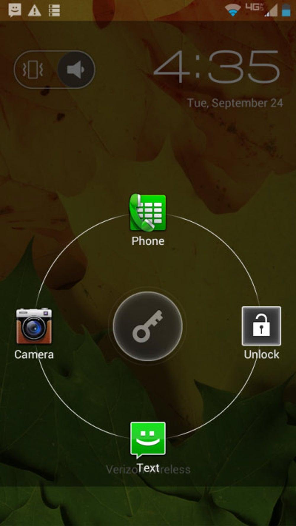 Unlock options