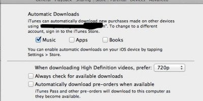 Use iCloud to download apps and music across all of your devices