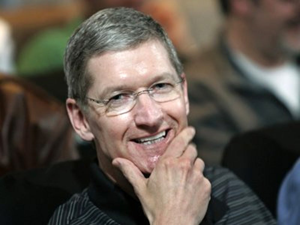 Apple CEO Tim Cook can be found in the gym by 5 a.m.
