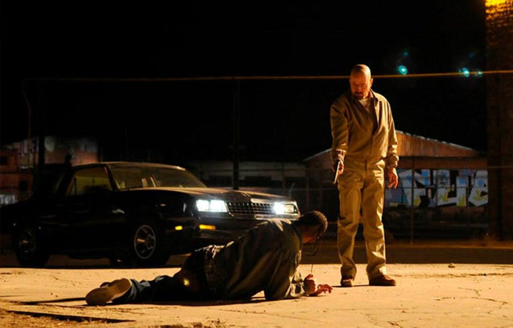Walt protects Jesse