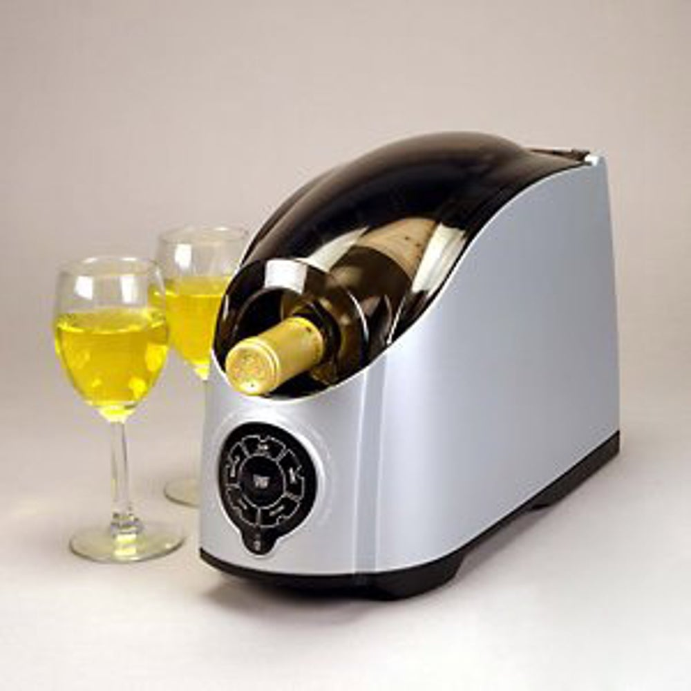 A wine and beverage cooler