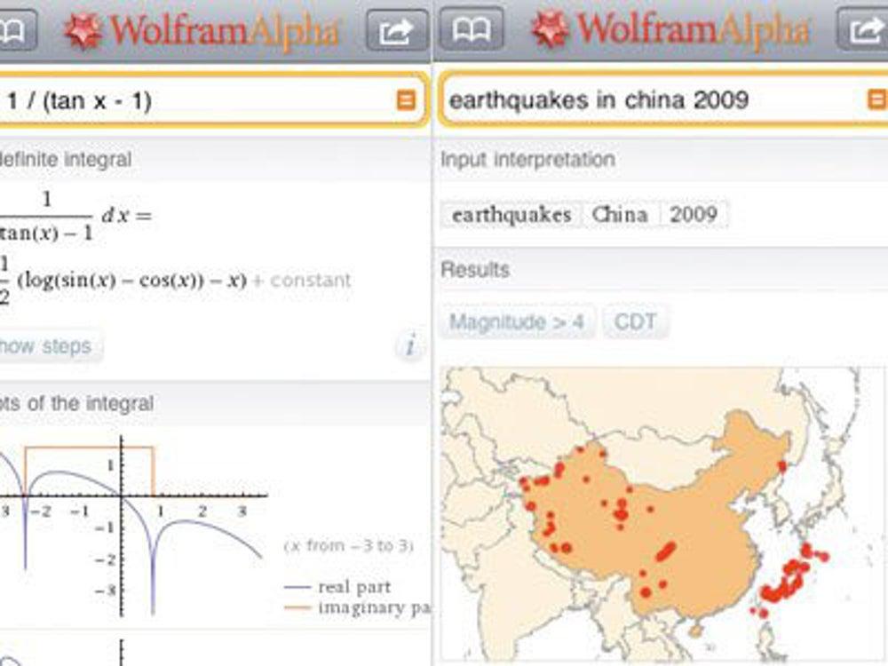 WolframAlpha: The computer's computer.