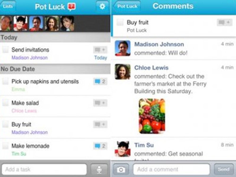 Yahoo bought Astrid, a to-do list app startup.