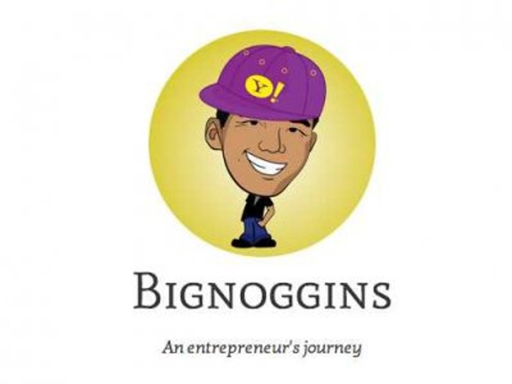 Yahoo bought Biggnoggins, which is just one guy's startup.