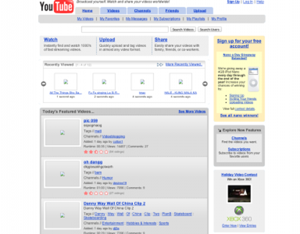 YouTube officially launched out of beta on Dec. 15, 2005
