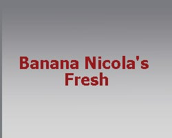 Banana Nicola's Fresh