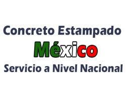 Concreto Estampado de México