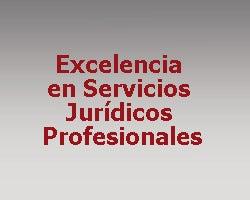 Excelencia en Servicios Jurídicos Profesionales