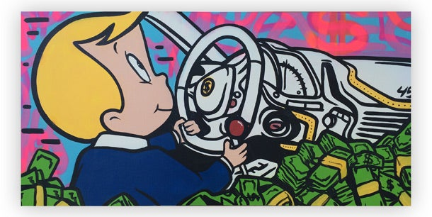 5 Points of Success Entrepreneurs Can Learn From a Masked Street Artist
