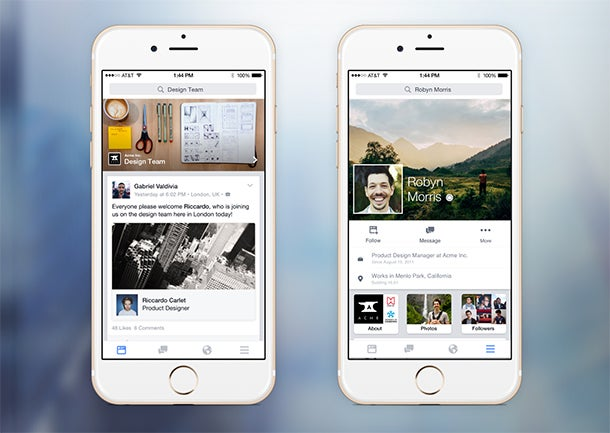 Facebook Begins Rolling Out Facebook at Work