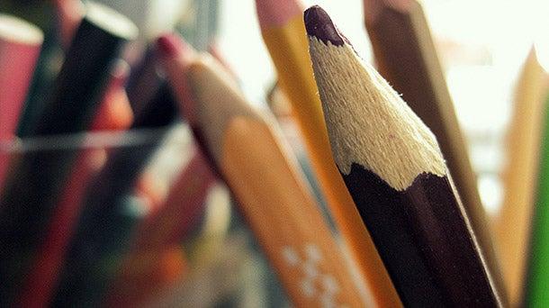 creativity - colored pencils