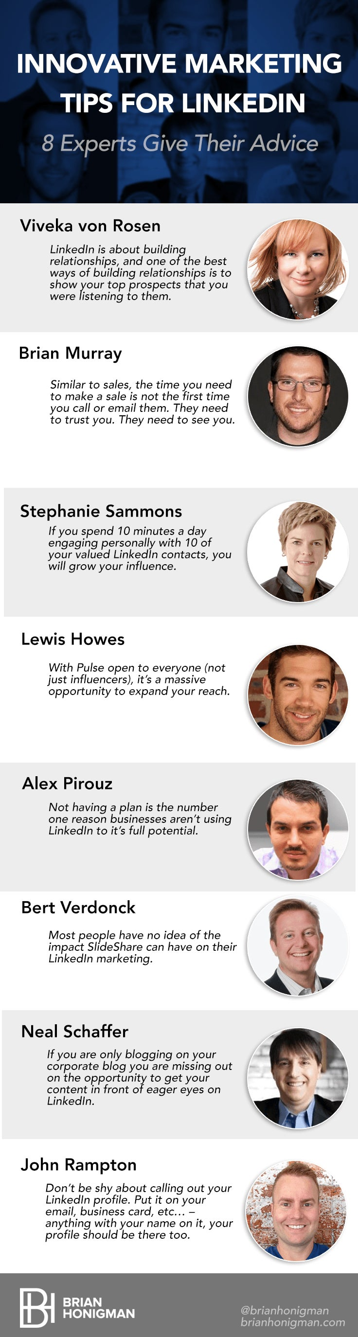 8 Ways to Better Market Yourself on LinkedIn in 2015(Infographic)