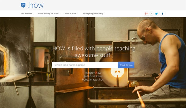 Google Wants You to Share Your Knowledge With a .How Domain