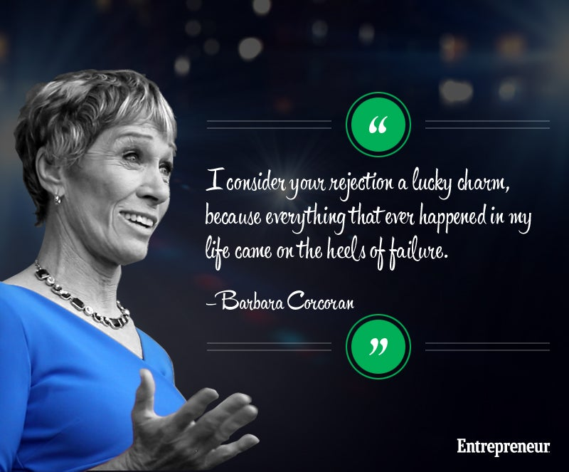 Shark Tank's Barbara Corcoran: Real Winners Say 'Hit Me Again'