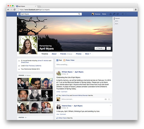 You Can Now Appoint Someone to Manage Your Facebook Account After You Die
